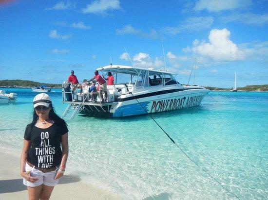 Powerboat Adventures: isla iguana