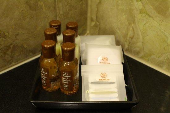 Sheraton Warsaw Hotel: Kit bagno