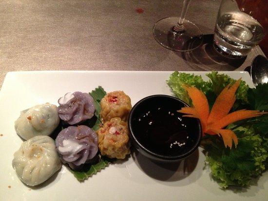 Patara Fine Thai Restaurant - Soho:                   Tasty dumplings