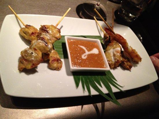 Patara Fine Thai Restaurant - Soho:                   Delicious satay