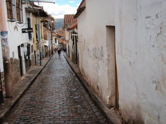 Tierra Viva Cusco Plaza:                   one of the surrounding side streets. very safe/comfortable area