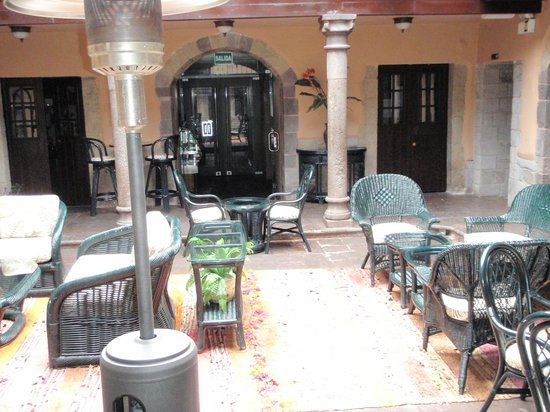 Tierra Viva Cusco Plaza:                   interior courtyard