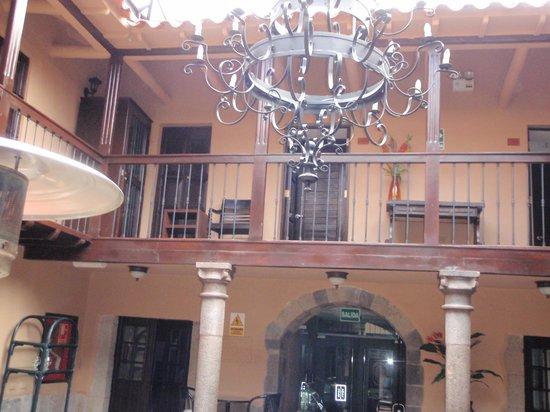 Tierra Viva Cusco Plaza:                   one of the interior courtyards