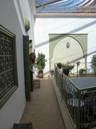 Dar Zemrane :                   Courtyard