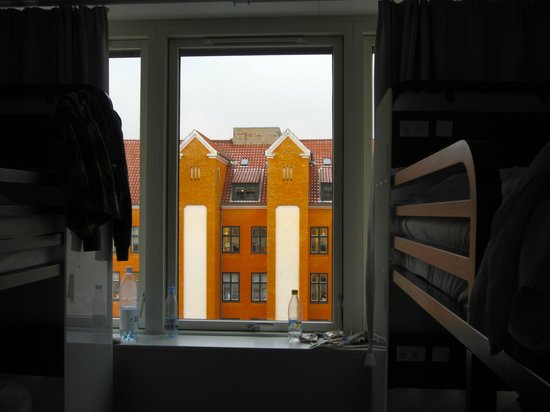 Generator Hostel Copenhagen: View from room 515, female dorm