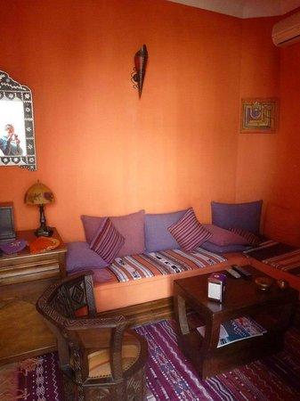 Dar Zemrane :                   Sitting area