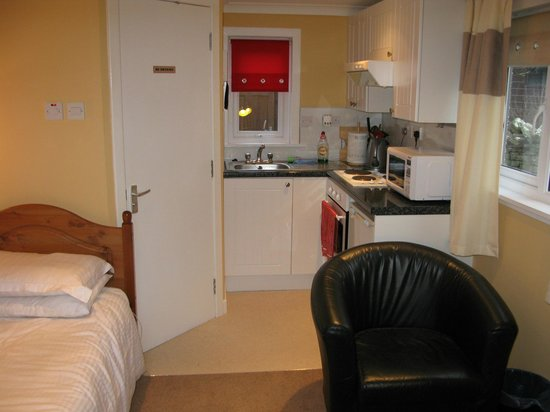 Single Room With Small Kitchen And En Suite Picture Of