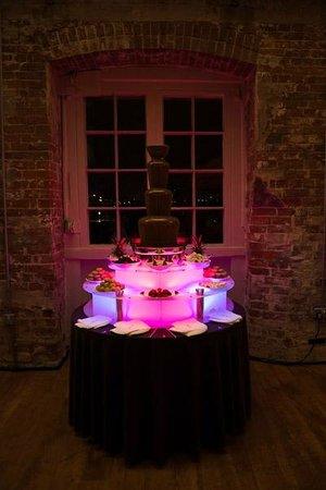 G's Wine Bar and Restaurant:                   Chocolate fountain