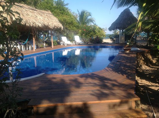 Miller's Landing Resort: New Pool, thatch bar