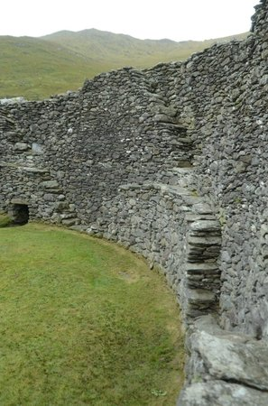 Staigue Fort:                   Inside the stone fort