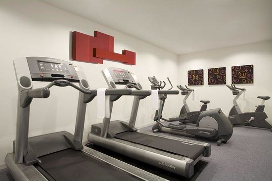 Green Court Serviced Apartment: Citadines Gym