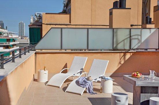 AinB Sagrada Familia : Terrace