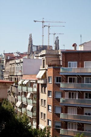 AinB Sagrada Familia : View from one of the apartments