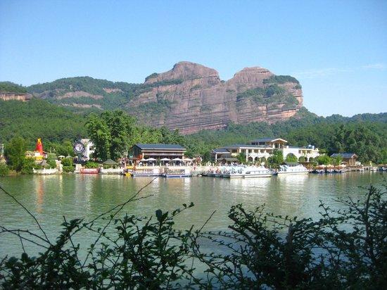 Shaoguan Danxia Mountain Geopark:                   Lying Lady Rock
