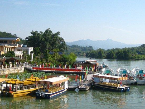 Shaoguan Danxia Mountain Geopark:                   Boat tour