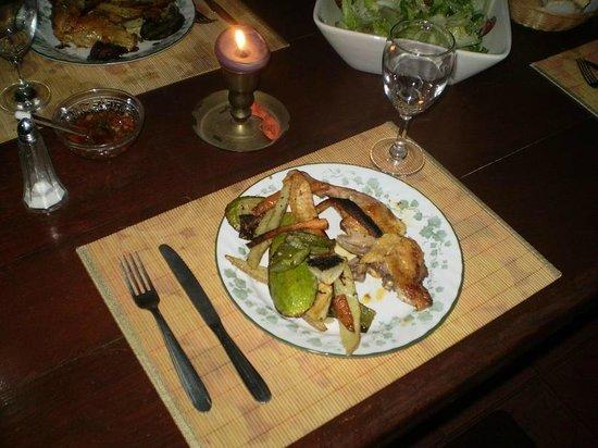 Le Bouquet Apart Hotel: una cena en el apart