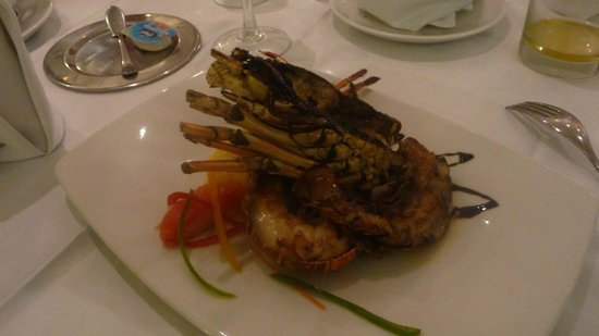 The Royal Suites Turquesa by Palladium: Langouste