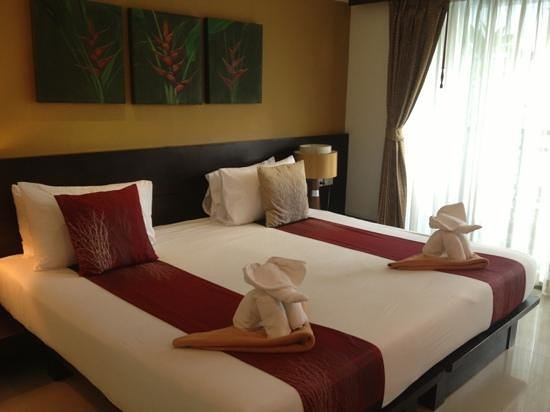 Buri Tara Resort:                   nice bedroom