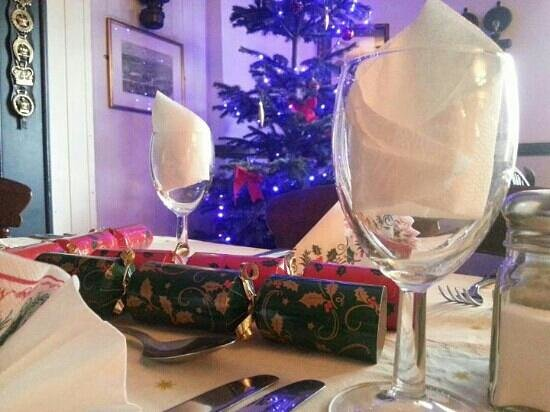 Punch House Monmouth :                   Xmas table