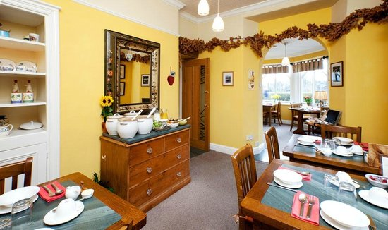 Easedale Lodge: Elegant Dining Room