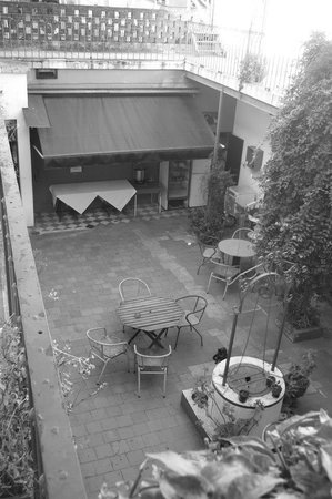 Hostel Colonial: Patio central!