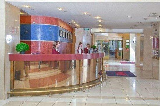 Rossiya Hotel: Reception