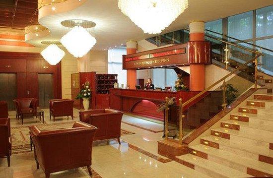 Arbat Hotel: Lobby view