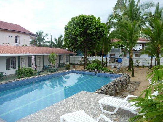 Hotel la Terraza:                   pool area