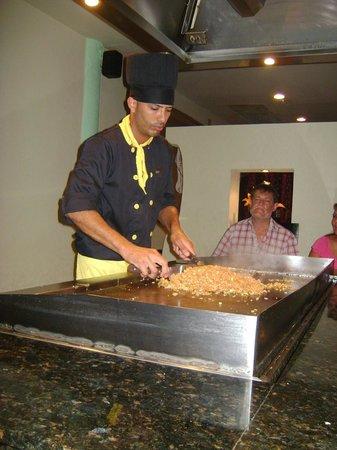 Bavaro Princess All Suites Resort, Spa & Casino: Tres bon souper au resto Japonais