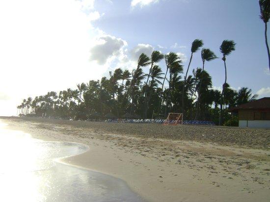 Bavaro Princess All Suites Resort, Spa & Casino: Vue de la plage