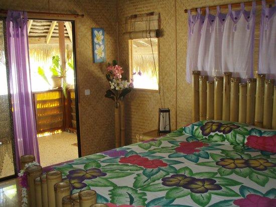 Relais Royal Tikehau: camera e verandina