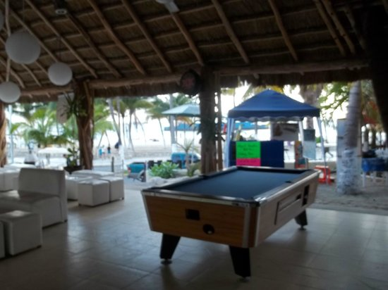 Hotel Posada Del Mar: Bar ares