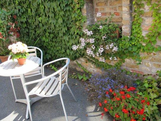 بونوبو أبارت هوتل: The sunny terrace