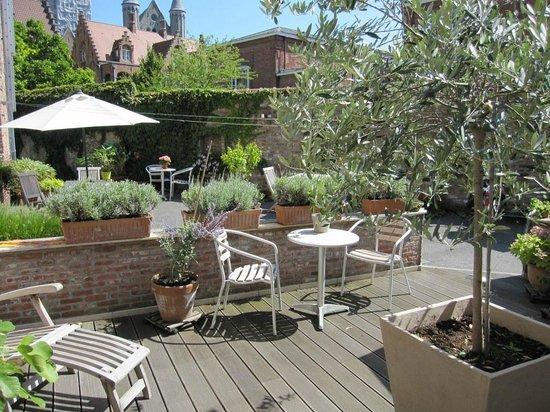 Bonobo Apart Hotel: The sunny terrace