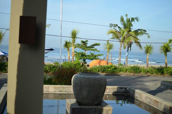 Bali Niksoma Boutique Beach Resort: ロビーからの眺め