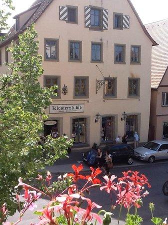 Hotel BurgGartenpalais:                   Vista do quarto