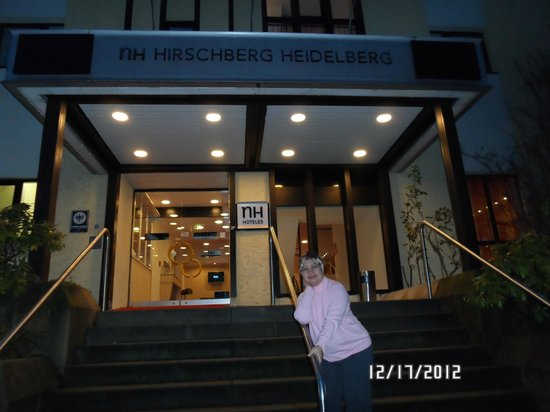 NH Hirschberg Heidelberg:                   Entrance of the hotel