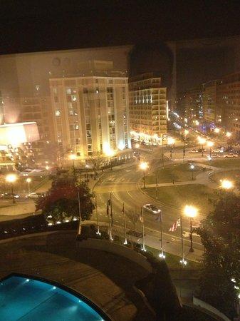 Washington Plaza Hotel:                   Night View