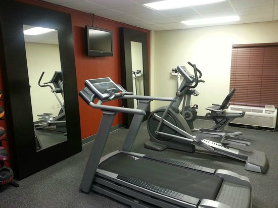 BEST WESTERN Albemarle Inn: New Fitness Center.
