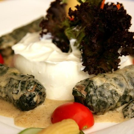 Nur Beach Bar & Restaurant:                   pazı sarması