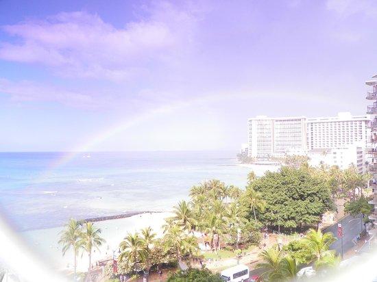 Alohilani Resort Waikiki Beach:                   From 5th floor room