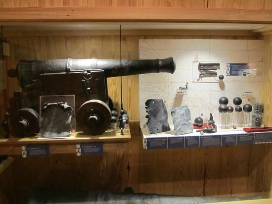 North Carolina Maritime Museum:                   Artifacts from Queen Anne's Revenge