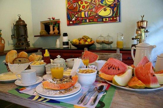 Camburi, SP: Café da Manhã