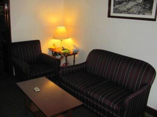Hotel Ritz Mexico: Este era como un recibidorcito que tenia la habitacion no creo que todas lo tengan.