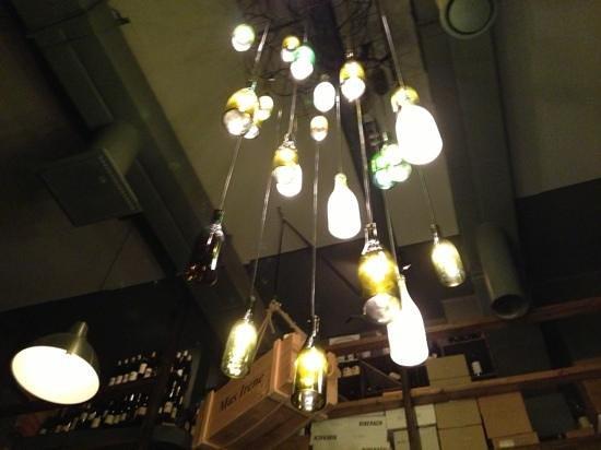 Restaurant Muru: il lampadario del muru, fichissimo