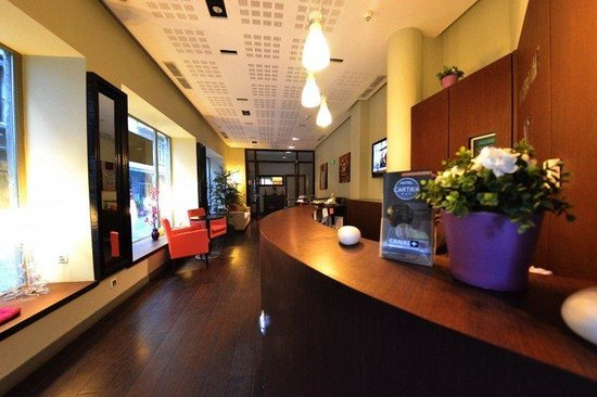 Hotel Cartier: Lobby