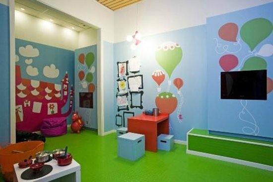 Scandic Infra City: Sigge room, Childrens play area