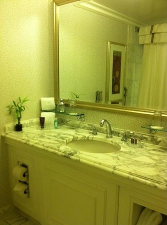 The Ritz-Carlton, Tysons Corner: small bathroom