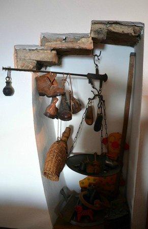 La casa di Adelina Charming House: Un dettaglio del salotto