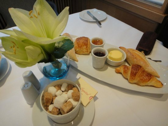 The Capital Hotel: La colazione